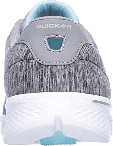 4 Shoe Glorify Women's Skechers Go Gray Blue Walking qxHOCEwW
