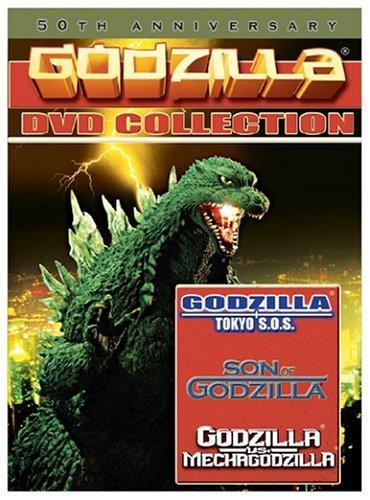 Godzilla Boxed Set (Godzilla: Tokyo SOS / Godzilla vs. Mechagodzilla / Son of Godzilla)