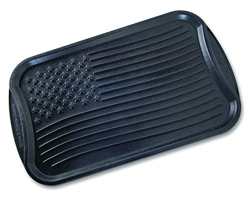- Nordic Ware 18860 Stovetop Stars And Strips Reversible Grill Griddle, Medium, Black