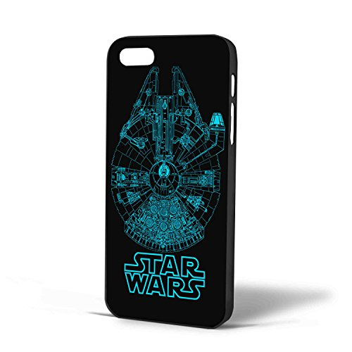 Star Wars Ship Blueprint for Iphone Case (iPhone 5c Black)