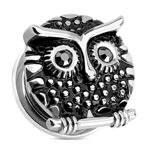 00 gauges plugs owl - 2