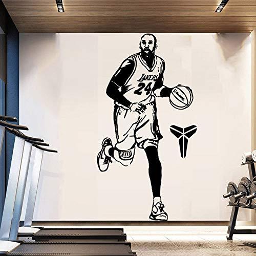 YXWYL Moda Kobe Bryant Wall Art Decal Wall Art Sticker Murales ...