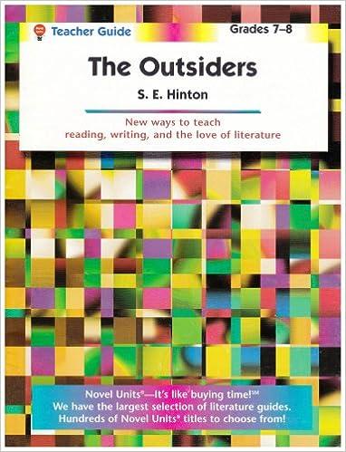 The Outsiders Teacher Guide By Novel Units Novel Units