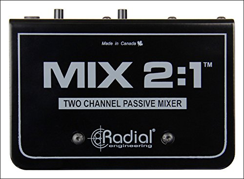 Radial Engineering MIX 2:1 - Two Channel Audio Combiner & Mixer