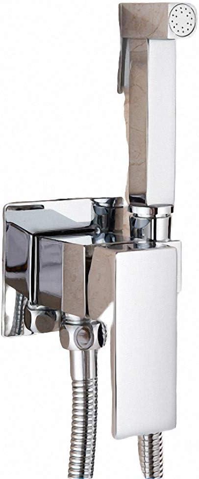 N//A Rose Gold Bidet Shower Faucet Douche Bidet Faucet Hot Cold Water Mixer Tap Toilet Bidet Shower