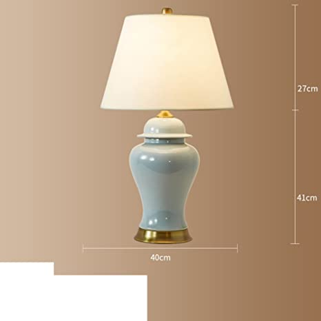 American Ceramic Table Lamp Bedroom Bed Lamp Living Room ...