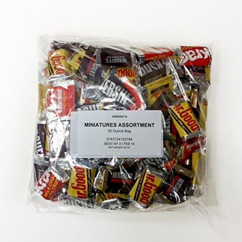 Hershey's Miniatures Assortment, Bulk Pack (Hersheys Miniatures)