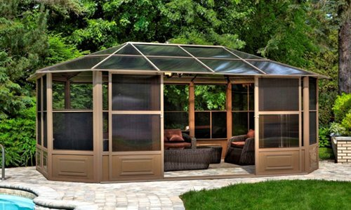 The 12 cool things for your backyard 4 season solarium