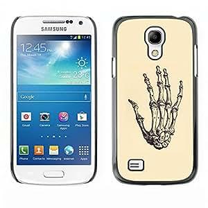iBinBang / Funda Carcasa Cover Skin Case - Anatomy Hand Skeleton Bone Death - Samsung Galaxy S4 Mini i9190 MINI VERSION!