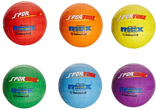 SportimeMax UniverCells - Utility Ball -Set of 6 - Assorted Colors
