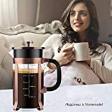 CENGAN French Press Coffee Maker,34 Ounce,1.0