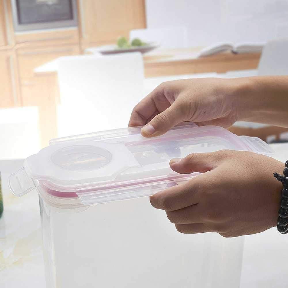 ERLING Cisterna Per Frutta Secca Da 4 Litri Serbatoio Per Cereali Secchi 3L//Tre colori