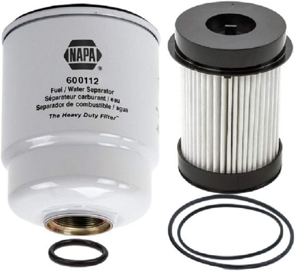 Amazon.com: Dodge Ram 6.7 Liter Diesel Fuel Filter Water Separator Set -  Napa Gold Filter Bundle 600112 and 600225NP: Automotive | Napa Fuel Filters |  | Amazon.com
