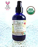 Cheap The Argan Tree Company, Argan Oil 4 oz Bottle Luxury Size, Highest Quality Grade 100% Pure Organic USDA Certified *Best Uses: Anti-Aging Moisturizer for Dry Sensitive Skin & Hands, Neck & Face Primer under Makeup, Serum for Acne & Scars & Wrinkles Treatment, Natural Body Massage Oil, Softening Cuticles & Chapped Lips, Moroccan Hair Shine & Healthier Scalp & Growth, Purifying & Moisturizing for You