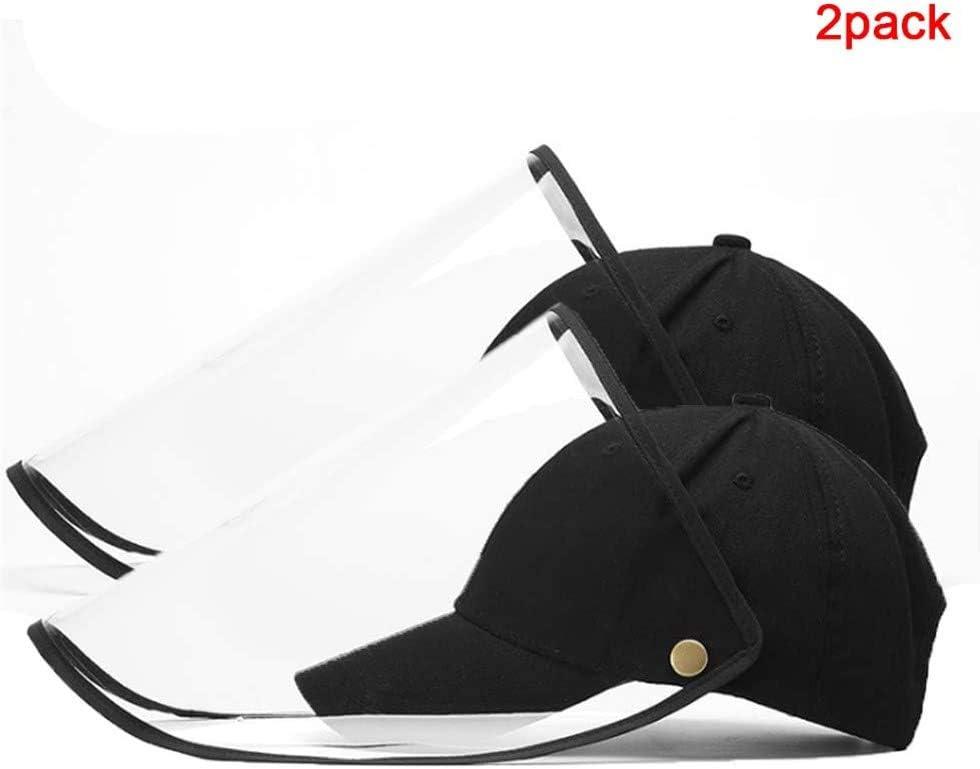 Amovible Anti-poussi/ère Amovible Anti-Cracher Baseball Cap 2 Eight Horses-J Chapeau de Protection
