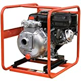 Multiquip QP205SH High Pressure Centrifugal Pump with Honda Motor, 5.5 HP, 106 GPM, 2'' Suction (1) 1/2'' Discharge, (2) 1'' Discharge