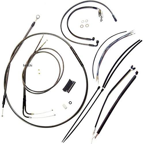 マグナム MAGNUM ケーブル キット 黒 12年以降 FXDWG ABS付き 12-14インチ エイプバー用 0610-0972 487141   B01LWRZ5VF