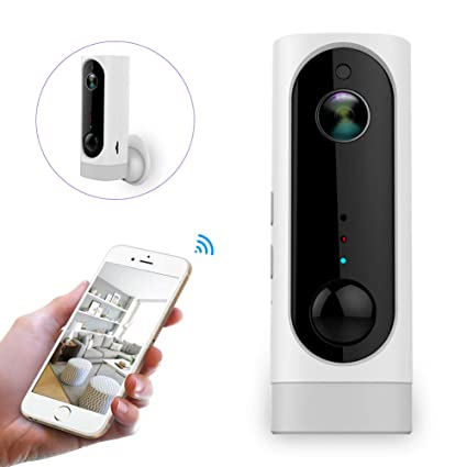 Battery Operated Security Camera >> Amazon Com Home Camera Wireless Security Camera Battery Powered Ip