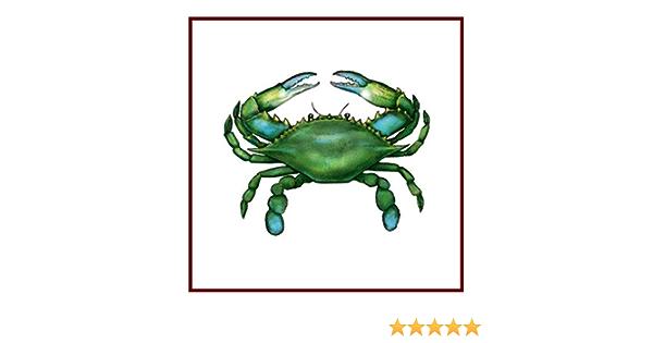 Nautical Seashore Atlantic Rock Crab  Counted Cross Stitch Chart