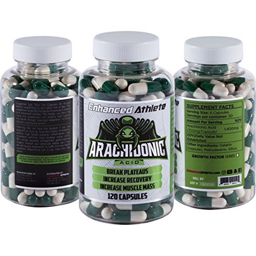 Enhanced Athlete Arachidonic Acid – Muscle and Strength Booster – Preserve Muscle and Boost Protein Synthesis – 350mg x 120 Capsules Review