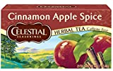 Celestial Seasonings Herbal Tea, Cinnamon Apple Spice, 20 Count