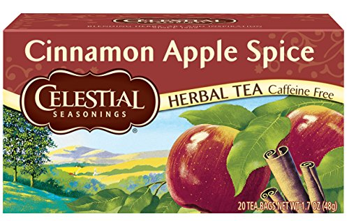 (Celestial Seasonings Herbal Tea, Cinnamon Apple Spice, 20 Count (Pack of 6))