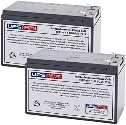 VICI Battery 12V 9AH Replacement for Eaton PowerWare 5115 1000 VA UPS Battery Brand Product