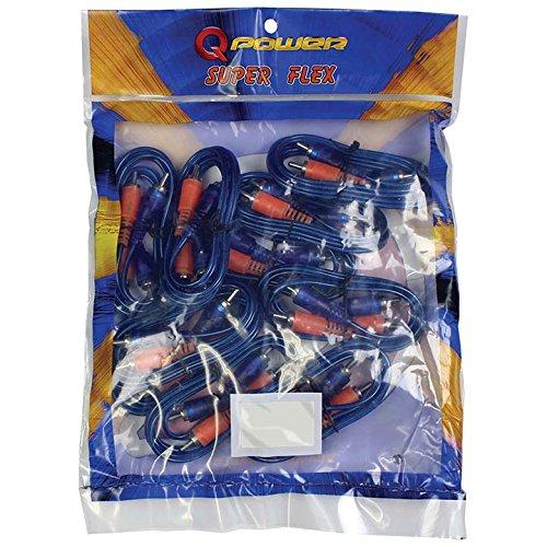 Qpower RCA3FTSFLEX Qpower 3 Ft. RCA Superflex