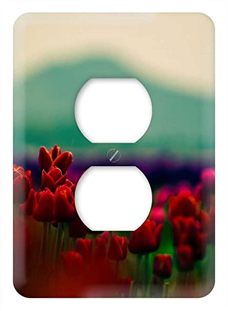 Amazon.com: WaPlate - Tulips - Switch Plate Outlet Cover ...