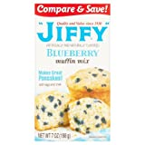 Jiffy Blueberry Muffin Mix, 7 ounce, 1 pack