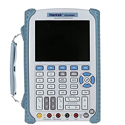 KKmoon Hantek DSO8060 Handheld Digital Oscilloscope Multimeter 60MHz 250MSa/s 2 Channels 5-in-1 Mobile Laboratories
