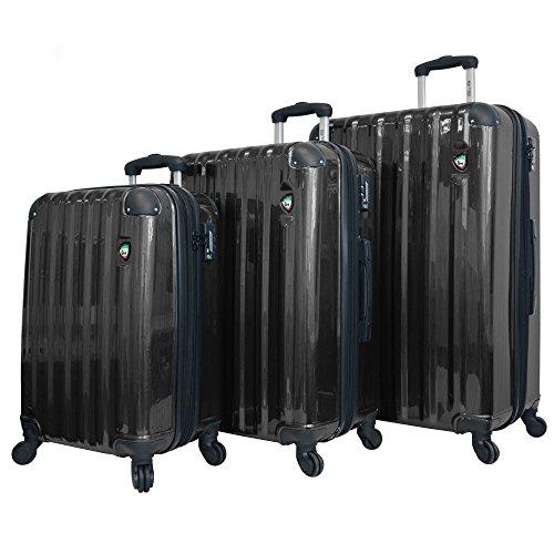 mia-toro-spazzolato-lucido-hardside-spinner-luggage-3-piece-set-black-one-size