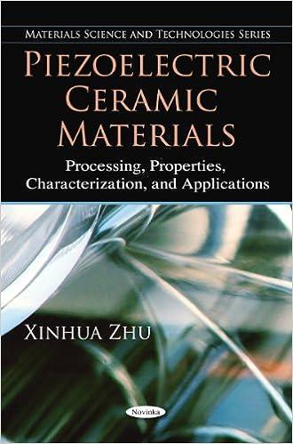 Amazon com: Piezoelectric Ceramic Materials: Processing