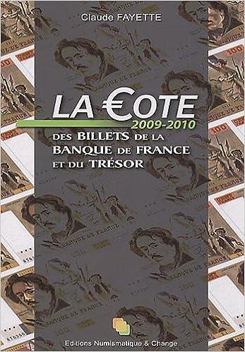 Lire La Cote des billets de la Banque de France et du Trésor pdf ebook
