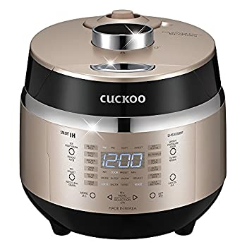Image of Cuckoo Electric Induction Heating Rice Pressure Cooker (3-Cup) - Full Stainless Interior with Non-Stick Coating - 3-Language Voice Navigation and LED Screen with Touch Selection Menu - Premium Quality