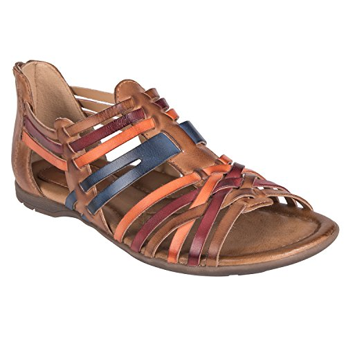 Earth Shoes Bonfire Women's Sand Brown Multi 5.5 Medium US (Earth Shoes Clearance)
