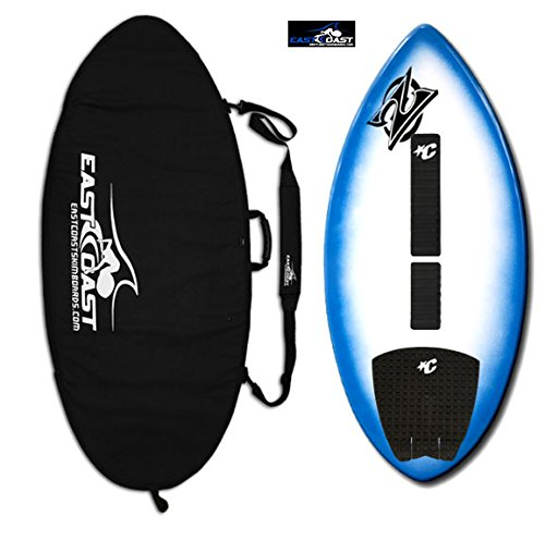 East Coast Skimboards Deluxe Skimboard Package - Zap Wedge Medium 45