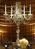 SET OF 15 WEDDING CANDELABRAS CANDELABRA CENTERPIECE CENTERPIECES - GREAT FOR SPECIAL EVENTS! - SET OF 15