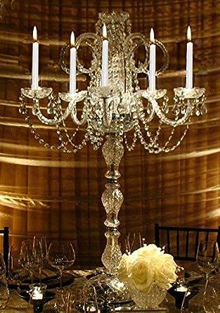 Amazon set of 15 wedding candelabras candelabra centerpiece set of 15 wedding candelabras candelabra centerpiece centerpieces great for special events set mozeypictures Choice Image