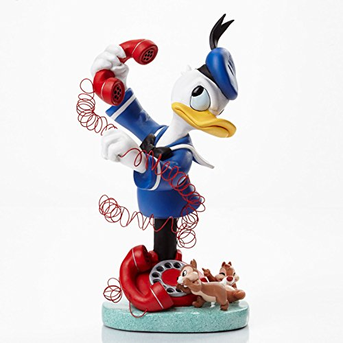 Grand Jester Studio Disney LE Chip and Dale Calling Donald Bust Figurine - Shore Jim Duck Donald