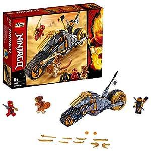 LEGO Ninjago Cole's Dirt Bike 70672 Building Kit, Ninja Toy for 8+ Year Old Boys and Girls, 2019