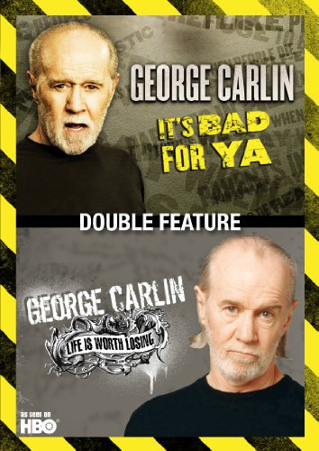 George Carlin Double Feature: Life Is Worth Losing, used for sale  Delivered anywhere in USA