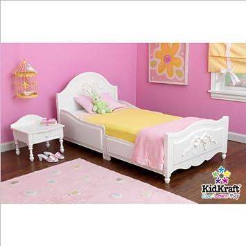 KidKraft Tiffany Bedroom Princess Toddler Bed Furniture Set