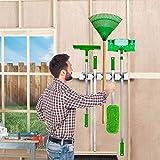 Mop Broom Holder, Garden Tools Wall Mounted