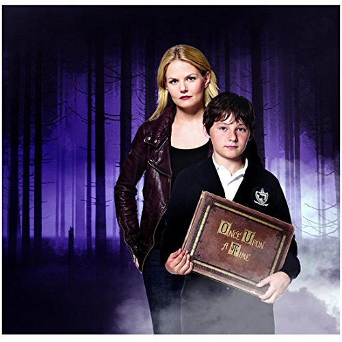 Once Upon a Time Jennifer Morrison as Emma Swan The Savior with Henry Holding Book 8 x 10 Photo