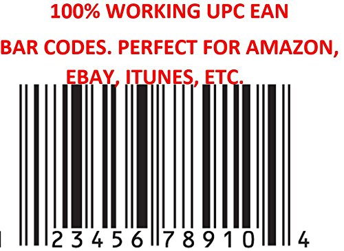 500 Working UPC EAN Codes for Amazon Ebay - Buy Online in