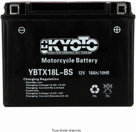 Batterie Moto KYOTO Ytx18l-bs Ss Entr Acide L 205mm W 89mm H 163mm 12v 21ah Acide 1,2l
