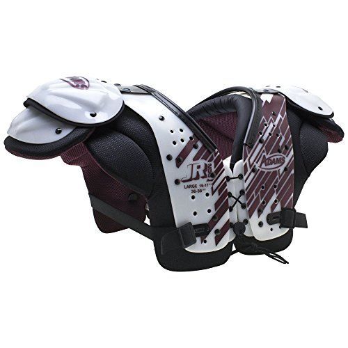 Adams USA JR200 Youth All Purpose Football Shoulder Pads, Medium