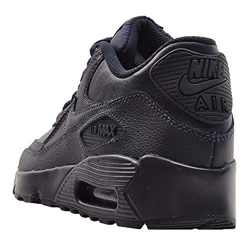 Nike Kids Air Max 90 LTR GS, obsidiana / obsidiana, talla juvenil 4.5
