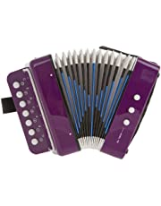 D'Luca G105-RD Child Button Accordion Red